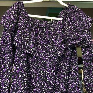 Stunning Michael Kors blouse, EUC, Size L